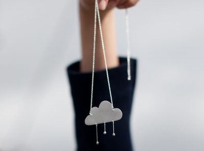 The party collection – In the clouds necklace