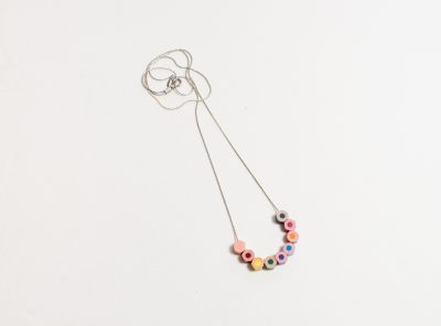 Minimal lapicitos necklace