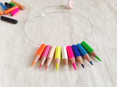 Fluo lapicitos necklace