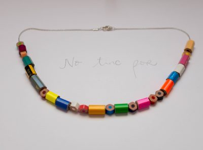 "Collar Morse ""No tinc por"""