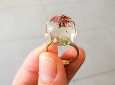 Anillo Bola de cristal